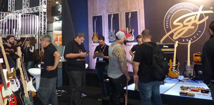Expomusic: SGT Guitars presente na feira e com pickups argentinos
