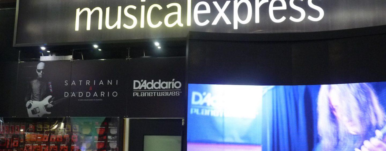 Expomusic: O trabalho da Musical Express com a Shure no Brasil