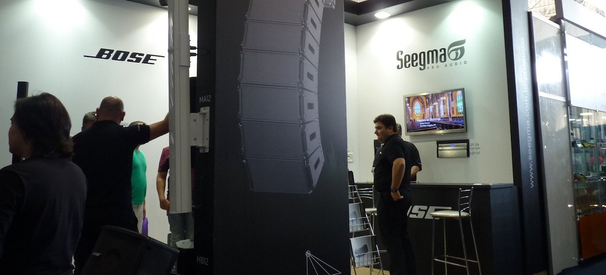 Expomusic: Participação da Bose com o novo distribuidor Seegma