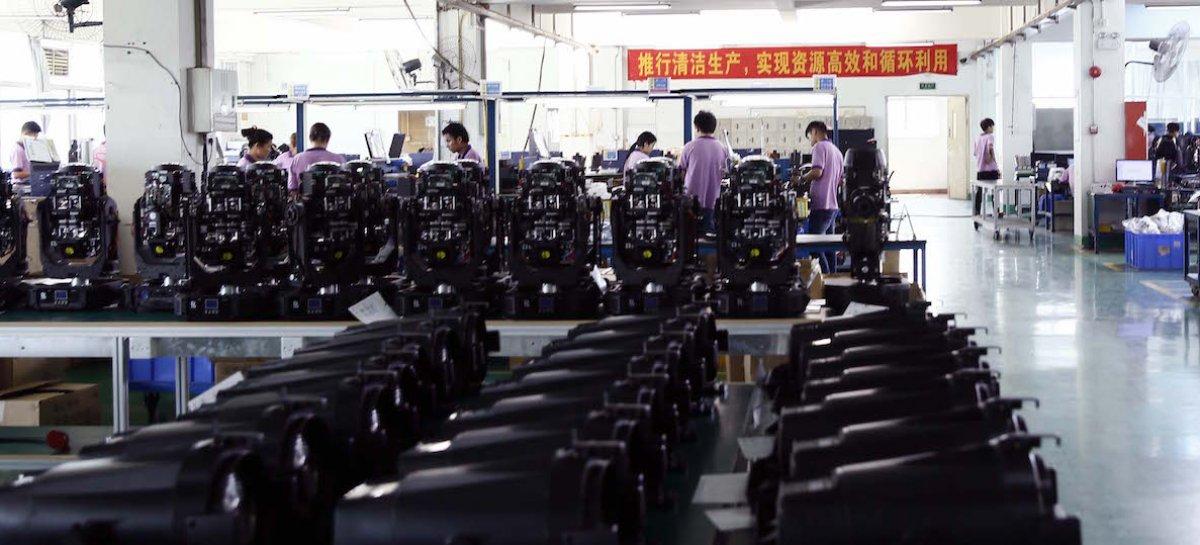 PR Lighting se destaca desde a China