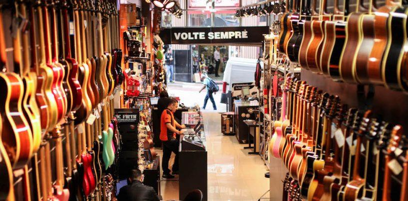 As lojas da X5 Music