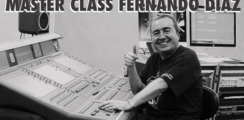 D.A.S do Brasil fará Master Class com Fernando Díaz