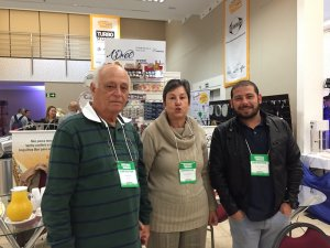 Hugo Weingrill Netto, Vera Weingrill e Rafael Cardoso (Arwel)