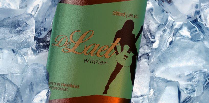 DeLaet com guitarras e cervejas próprias