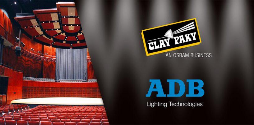 Osram e Clay Paky compram operações da ADB