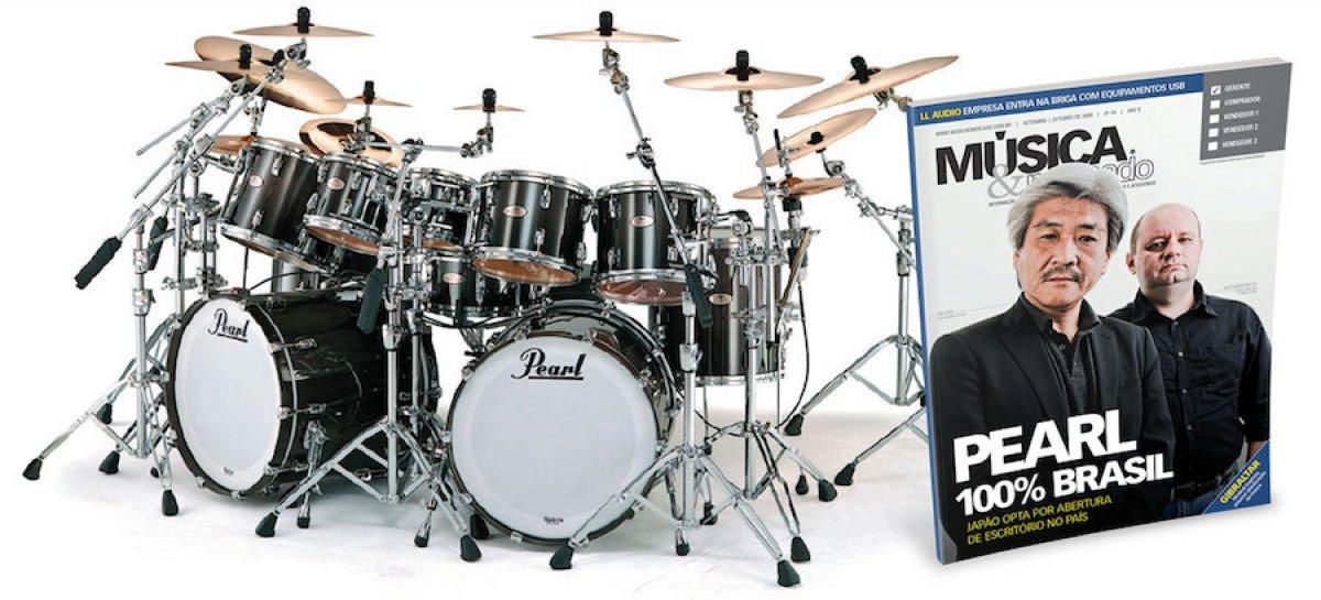 Pearl Drum deixa de ser distribuída pela Pride Music