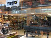 As sete lojas da Carneiro Instrumentos Musicais