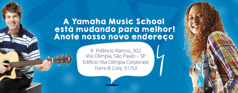 Yamaha Music School começa 2017 com novo endereço
