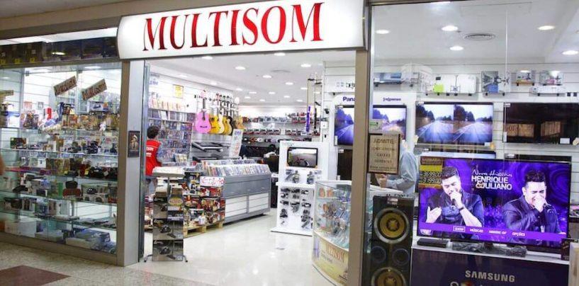 Multisom fechará 30 filiais e já dispensou mais de 700 funcionários