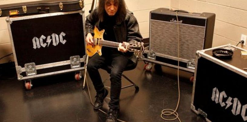 "Nova Malcolm Young ""Salute"" Yet da Gretsch"