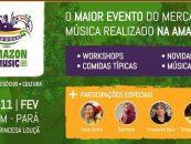Amazon Music Fest reuniu o mercado da música em Belém do Pará