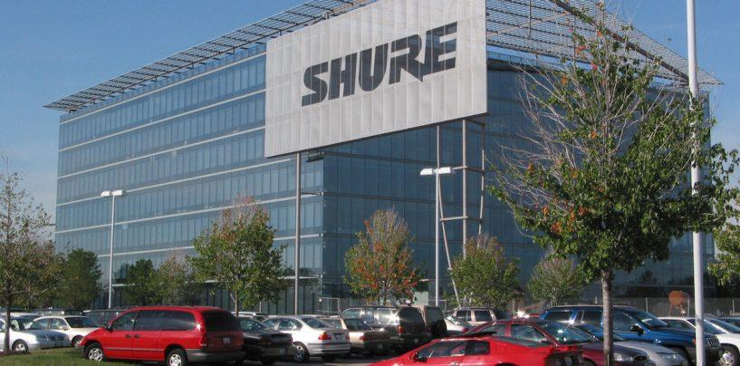 Shure recebe prêmio por excelência empresarial