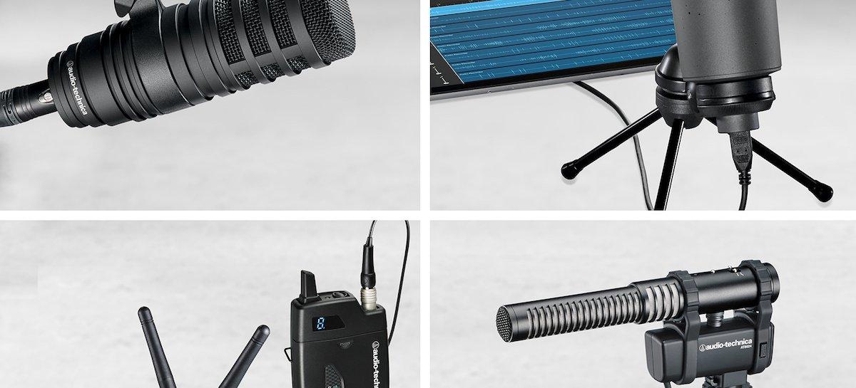 Audio-Technica e seus microfones para criação de conteúdo na NAB