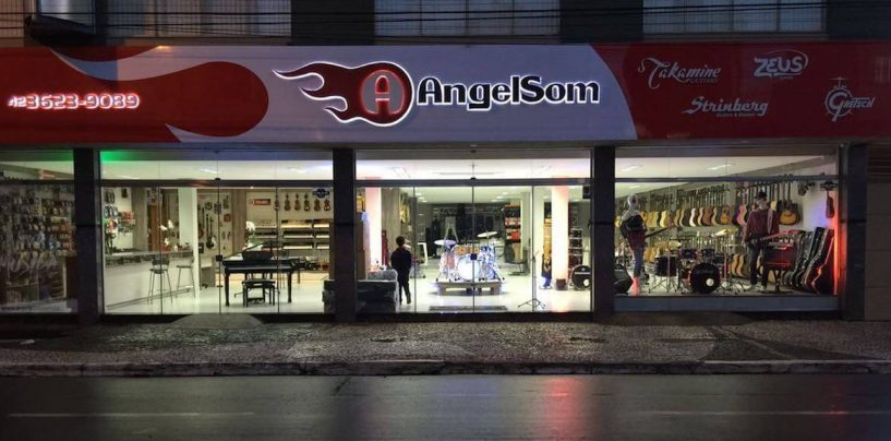 Uma nova loja e muitas novidades para a AngelSom