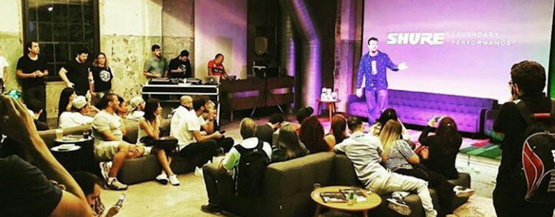 Shure promove evento sobre qualidade de áudio