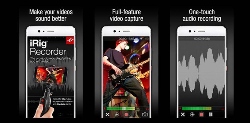 Novo app iRig Recorder 3 para Android da IK Multimedia