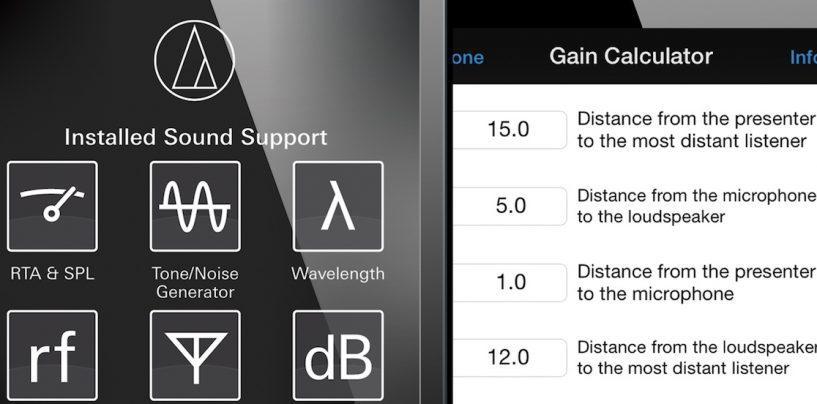Audio-Technica lança atualizações para o aplicativo Installed Sound Support