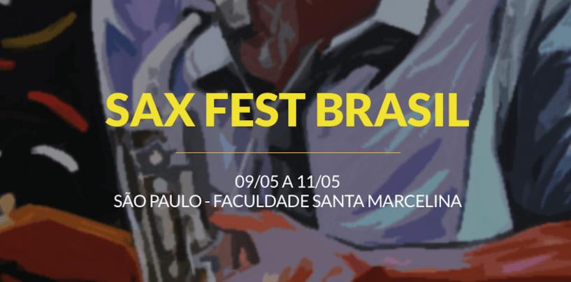 Yamaha Musical do Brasil participa da 2ª edição do Sax Fest Brasil