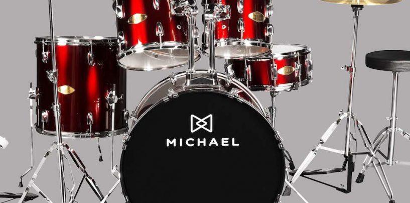 Nova edição das baterias Michael Audition