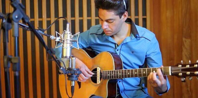 Gravando fingerstyle no violão: no estúdio com Jackie dos Passos