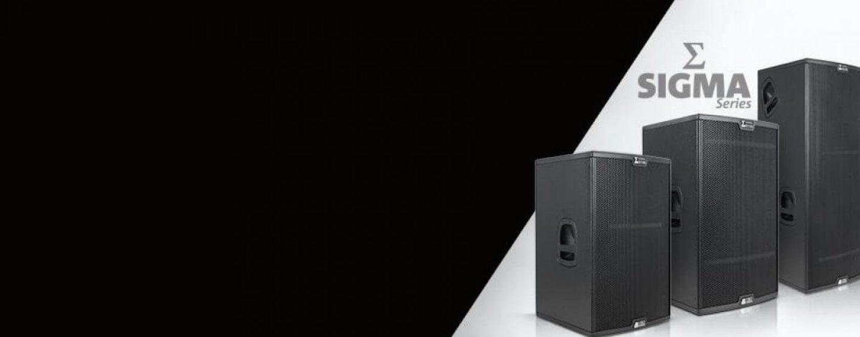 Nova série Sigma da dBTechnologies