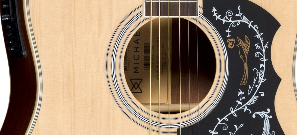 Violões Michael Folk Galaxy cutaway ingressam na linha da empresa
