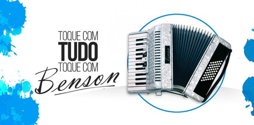 Proshows traz acordeões Benson ao Brasil