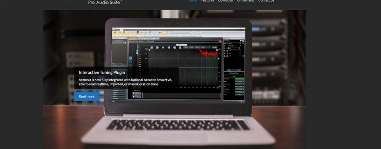 Powersoft anuncia nova versão do software Armonía Pro Audio Suite