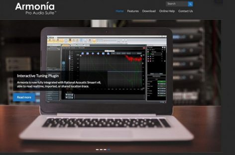 Powersoft anuncia nova versão do software Armonía Pro Audio Suite