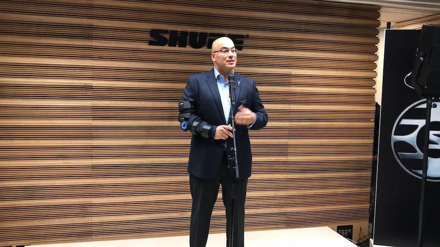 José Rivas, diretor da Shure para Américas