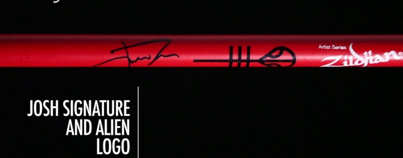 Nova baqueta Josh Dun Artist Series da Zildjian