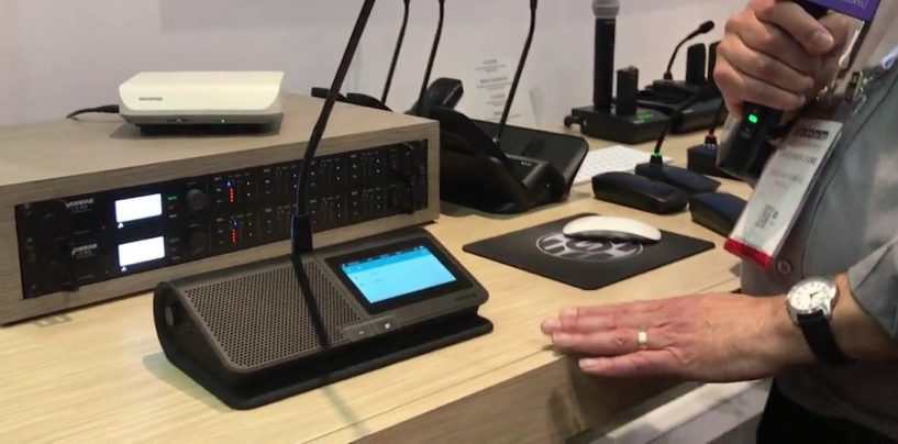 Shure apresenta um avanço do novo sistema Microflex Complete