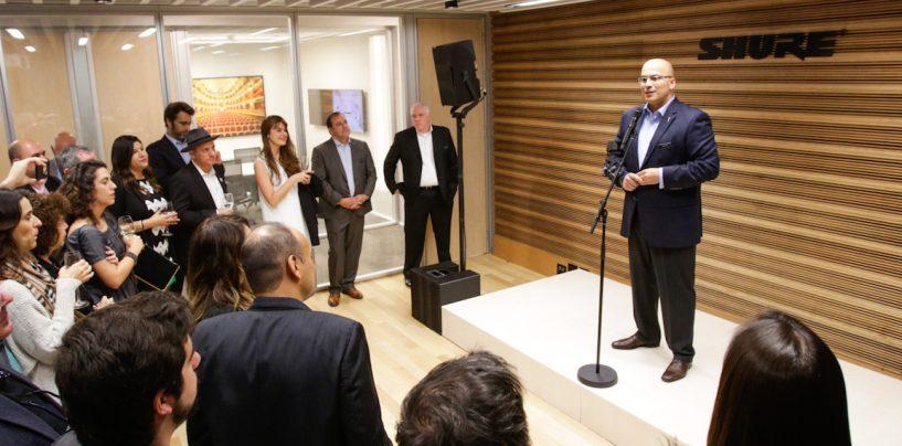 Shure inaugura escritório próprio no Brasil