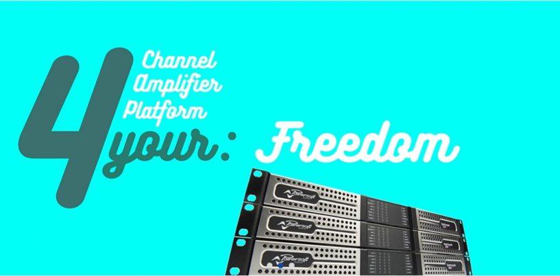 A amplificação da Powersoft visita InfoComm 2017