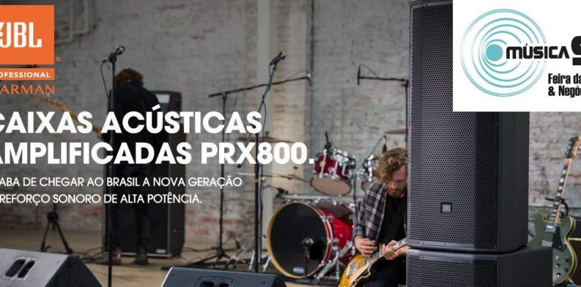 Harman do Brasil estará na feira Música SC, em Florianópolis