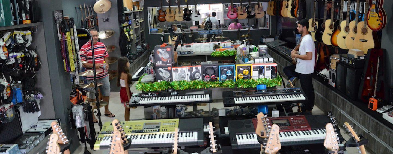 Instrumentos, áudio e locação na Musical Importadora