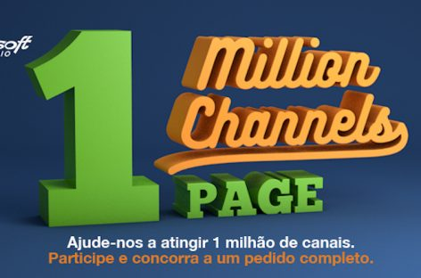 Powersoft anunciou a campanha One Million Channels