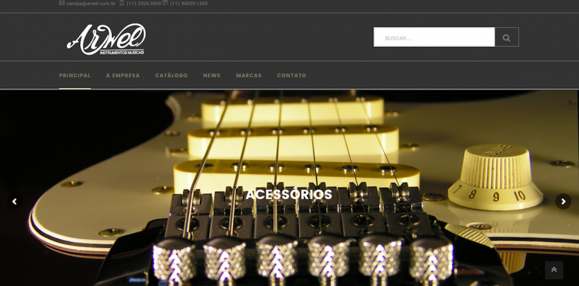 Arwel lança novo site