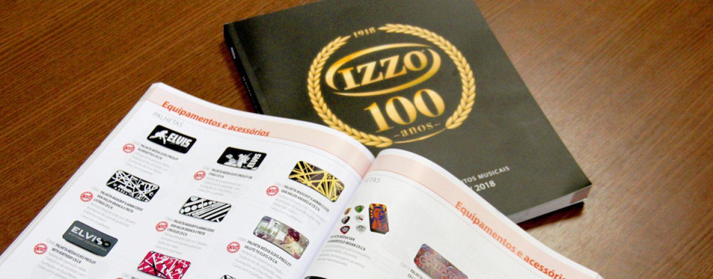 Izzo começa comemoração de 100 anos com novo catálogo