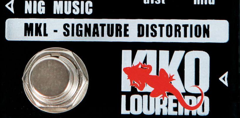 NIG apresenta pedal assinado por Kiko Loureiro