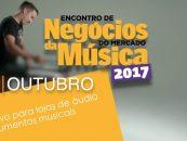 Encontro de Negócios do Mercado da Música trará 45 expositores
