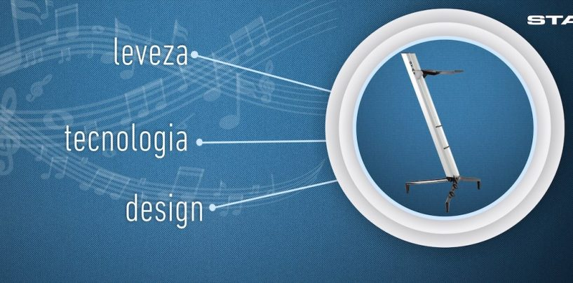 Suportes para instrumentos com a Stay Music