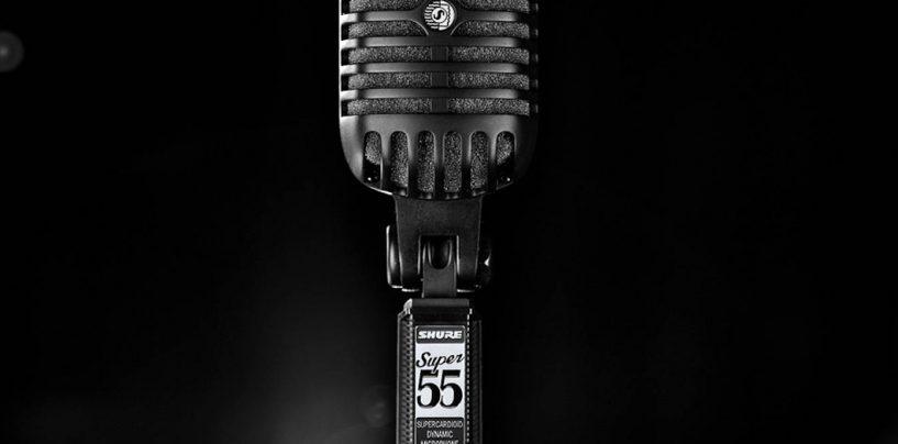 Expomusic: Shure lança microfone vocal Super 55-BLK Black Edition