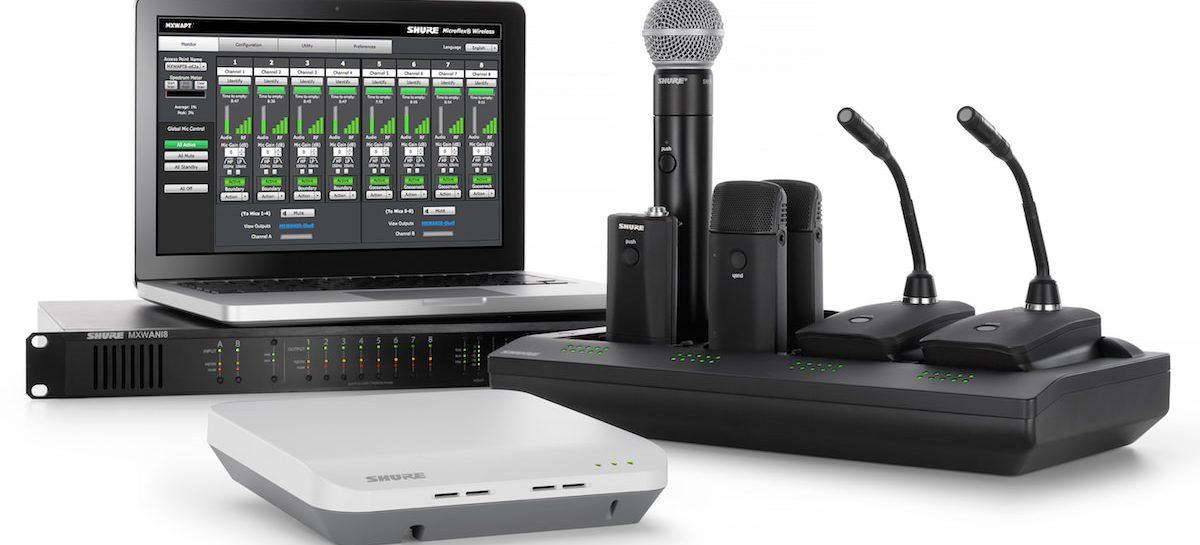 Microfones sem fio em 700MHz deverão ser trocados. Saiba o motivo.