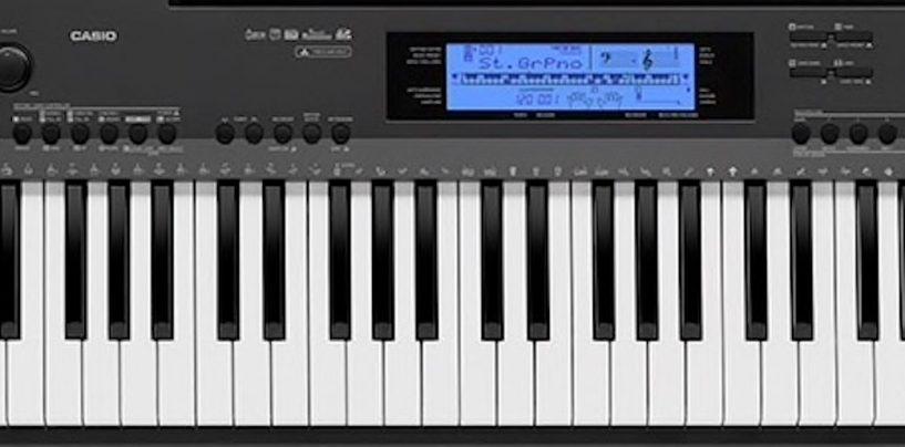 Casio cresce com os pianos digitais modelos CDP-135 e CDP-235R
