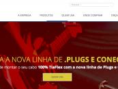 Novo site para a Tiaflex