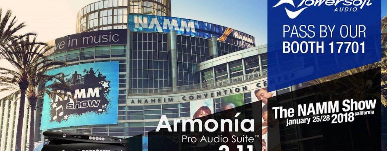 Powersoft volta para a NAMM 2018