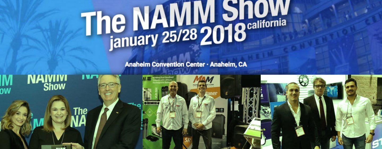 NAMM SHOW 2018: Indústria brasileira de instrumentos e áudio orgulha o Brasil no exterior