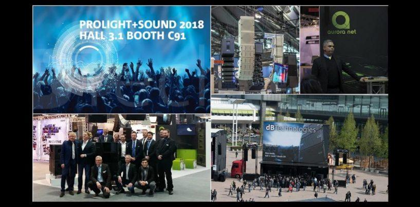 Prolight + Sound 2018: dBTechnologies apresentará atualizações de line array e sub VIO