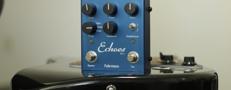 Review do pedal Fuhrmann Echoes Delay